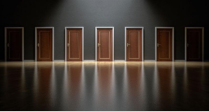 cómo elegir puerta de portal