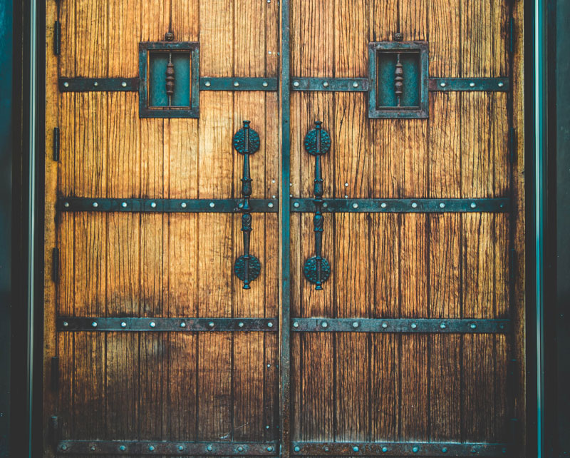 mejor material para la puerta exterior