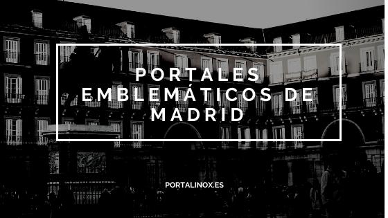 Las puertas de portal de Madrid con más historia
