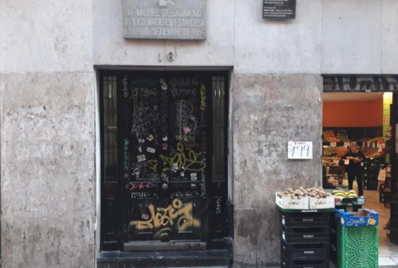 puerta famosa en bilbao